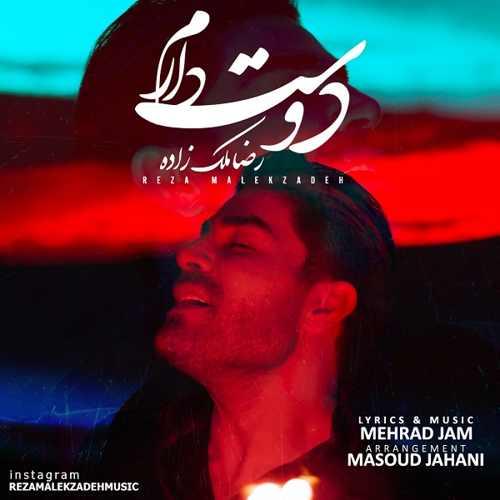 دانلود موزیک جدید رضا ملک زاده دوست دارم